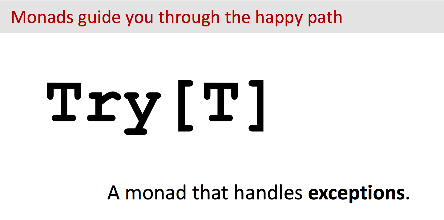 Monad Programming with Scala Future